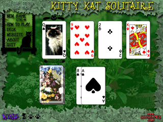 SKitty Kat Solitaire gamescreen